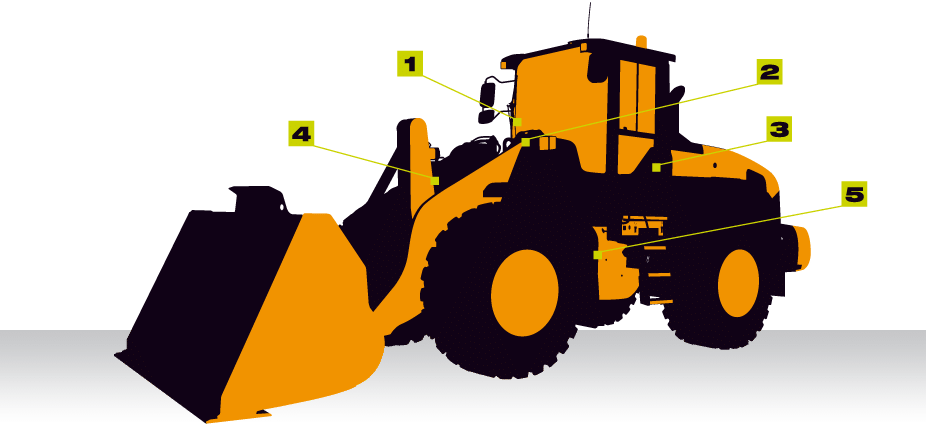 מקורי שקילה במעמיס קדמי (טרקטור/שופל וכו') - חברת שקילה OP-12